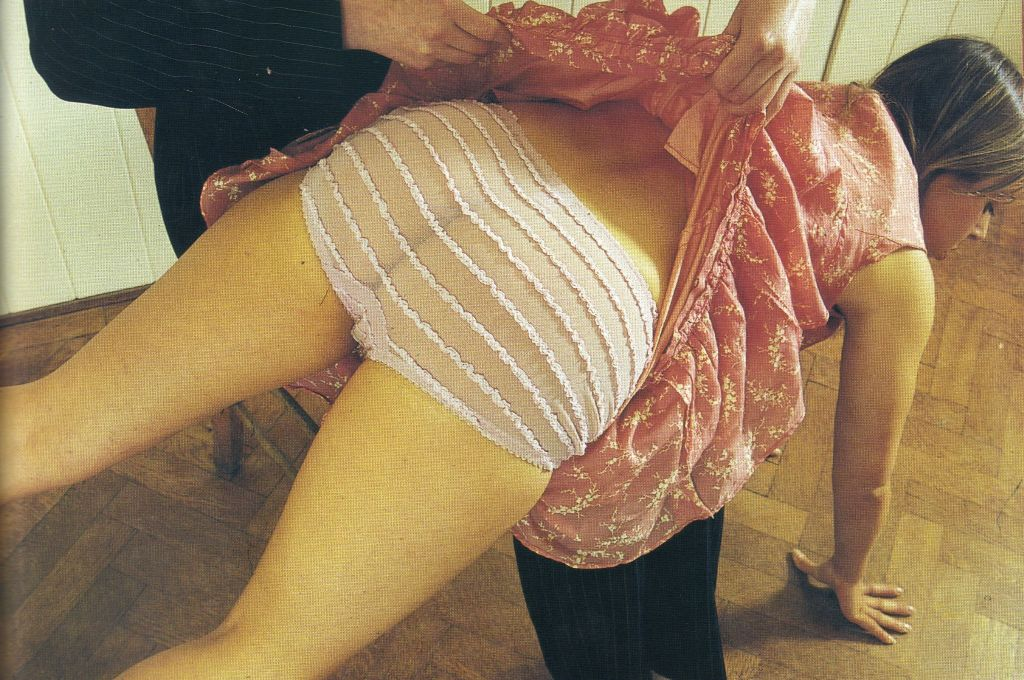 Spank his frilly arse
