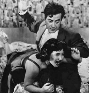 Farid Al Atrash Spanking Shadia - Egyptian Film Enta Habibi