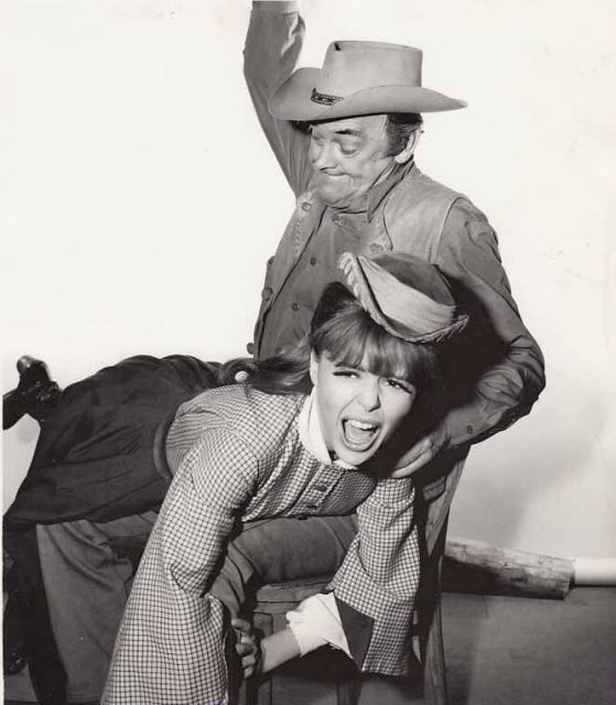 John McIntire spanks Deborah Walley Wagon Train Nancy Styles Storya