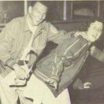 1950's Cheerleader Spanked